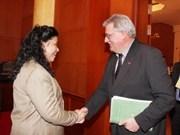 European Parliament delegation visits Vietnam