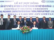 EVN signs EPC contract with Chinese energy firm