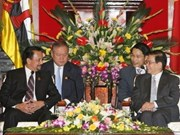 President, PM welcome Brunei's King