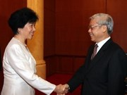 NA leader pushes for stronger ties with China