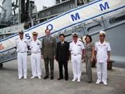 French naval ship visits Da Nang