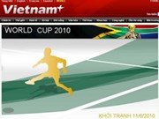 VietnamPlus, AFP launch World Cup flash graphics