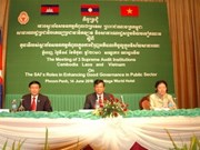 VN auditors meet Lao, Cambodian counterparts