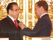 Vietnamese Party chief warmly welcomed in Russia