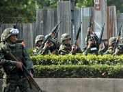 Thailand deploys more anti-riot police in capital