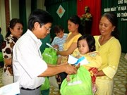 War-era victims receive more gifts