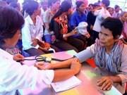 Cambodia highlights humanitarian activities