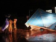 Aid on way to Mindulle storm victims