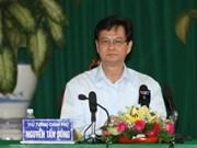 Gov't leader calls on investors to Mekong Delta
