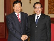 Party leader welcomes Chinese comrades
