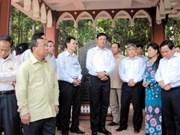 Lao PM visits Tuyen Quang province