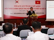 Vietnam, RoK step up investment cooperation