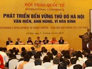 Hanoi's sustainable development in limelight