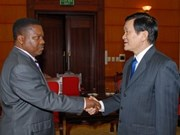 Party official emphasises relations with Angola
