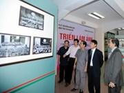 Photo exhibition shows Thai Nguyen-Hanoi links