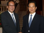 Gov't leader meets with Philippine president