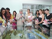 Miss Earth beauties share environmental ideas