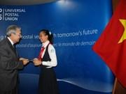 Vietnamese pupil receives UPU gold medal