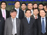 President visits corporations over Tet