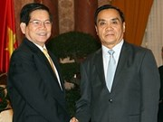 State leader meets Laotian Prime Minister