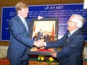 Dutch Prince visits HCM City