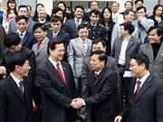 PM meets Hai Phong voters