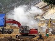 Party leader sends condolences to landslide victims