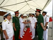Indian naval ships visit Vietnam