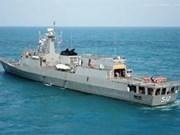 Royal Thai Navy ship visits Hai Phong