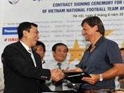 German coach leads Vietnam football team