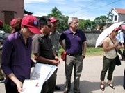 Donor delegates tour projects in Ha Tinh