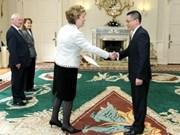 Irish President values ties with Vietnam