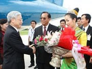 Party leader visits Laos' Savannakhet province