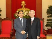 Vietnam, Laos vow to further ties