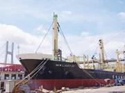 Vinashin exports wood carrying ship to Taiwan