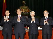 More congratulations to new VN leaders