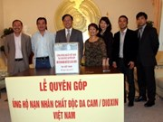 Vietnamese in Germany raise funds for AO victims