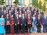State leader confers ambassadorship titles