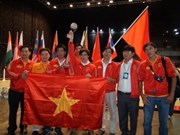 Vietnam finishes 2nd runner-up at ABU Robocon