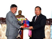 Lao leaders help VNA – KPL cooperation