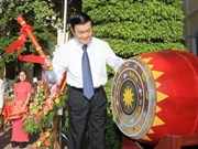 State President opens new school year in Nghe An