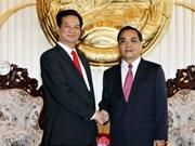 Vietnam, Laos vow to strengthen relations