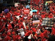 Thai Red-shirts marks anniversary of 2006 coup