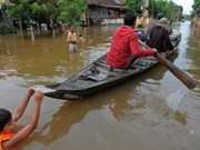 Thousands of OV families in Cambodia hit by floods