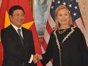 Vietnam, US discuss boosting bilateral partnership