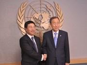 UN chief hails Vietnam's cooperation