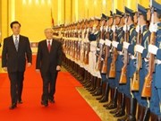 Vietnamese Party leader begins China visit