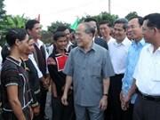 NA leader works with Dak Lak authorities