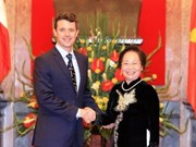 Danish Crown Prince welcomed in Vietnam