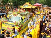 Memorial service held for senior Buddhist dignitary